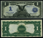 FR. 233 $1 1899 Silver Certificate Extra Fine