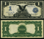 FR. 235 $1 1899 Silver Certificate Extra Fine