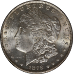 1878-CC Morgan Silver Dollar PCGS MS62 Fresh and Crispy Just A Hint Of Toning