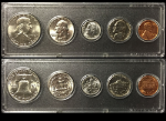 1962 Year Coin Set Half Quarter Dime Nickel Cent in a Whitman Holder