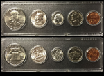 1960 Year Coin Set Half Quarter Dime Nickel Cent in a Whitman Holder