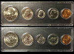 1977 Year Coin Set Half Quarter Dime Nickel Cent in a Whitman Holder
