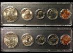 1989 Year Coin Set Half Quarter Dime Nickel Cent in a Whitman Holder