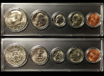 1982 Year Coin Set Half Quarter Dime Nickel Cent in a Whitman Holder
