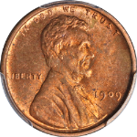 1909-P VDB Lincoln Cent PCGS MS63RD Nice Eye Appeal Nice Strike - Stock Item