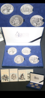 Great American Triumphs Made By Longines-Wittnauer .925 Silver