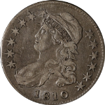 1810 Bust Half Dollar O-110 R.2 Nice XF Great Eye Appeal Nice Strike