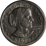 1979-P Susan B. Anthony Dollar