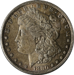 1880-P Morgan Silver Dollar