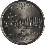 2005-P Minnesota Statehood Quarter Extra Tree DDR-001 PCGS MS65 - STOCK