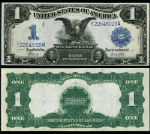 FR. 235 $1 1899 Silver Certificate Extra Fine+