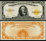 FR. 1173 $10 1922 Gold Certificate Choice AU