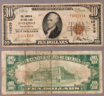 Ambridge PA $10 1929 T-1 National Bank Note Ch #10839 Ambridge NB Fine