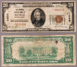 Arnold PA $20 1929 T-1 National Bank Note Ch #11896 National Deposit Bank Fine